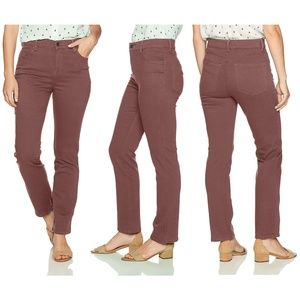 Gloria Vanderbilt Amanda Taper Jeans Spiced Mauve